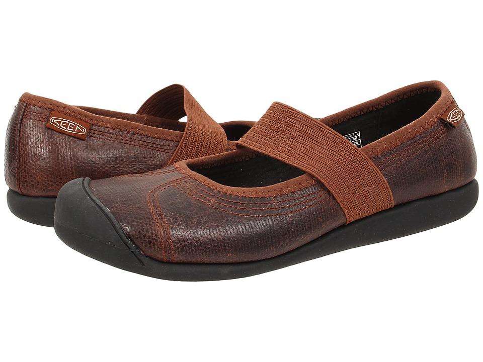 Keen - Sienna MJ Leather (Tortoise Shell Pebbled) Women's Maryjane Shoes