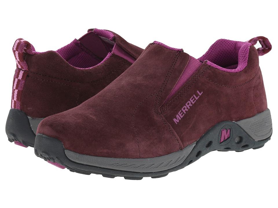 Merrell Kids - Jungle Moc Sport (Little Kid) (Berry/Grey) Girls Shoes