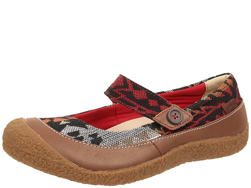 Keen - Harvest MJ Button (Tortoise Shell Print) Women's Flat Shoes