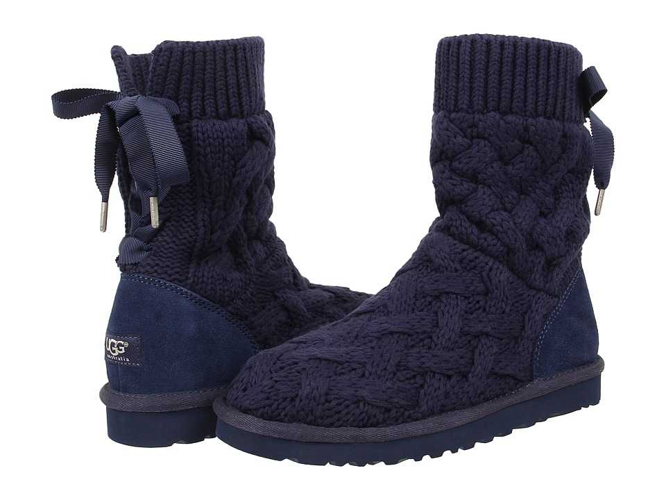 UGG - Isla (Navy/Knit) Women's Boots