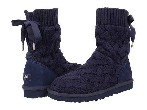 UGG - Isla (Navy/Knit) Women's Boots