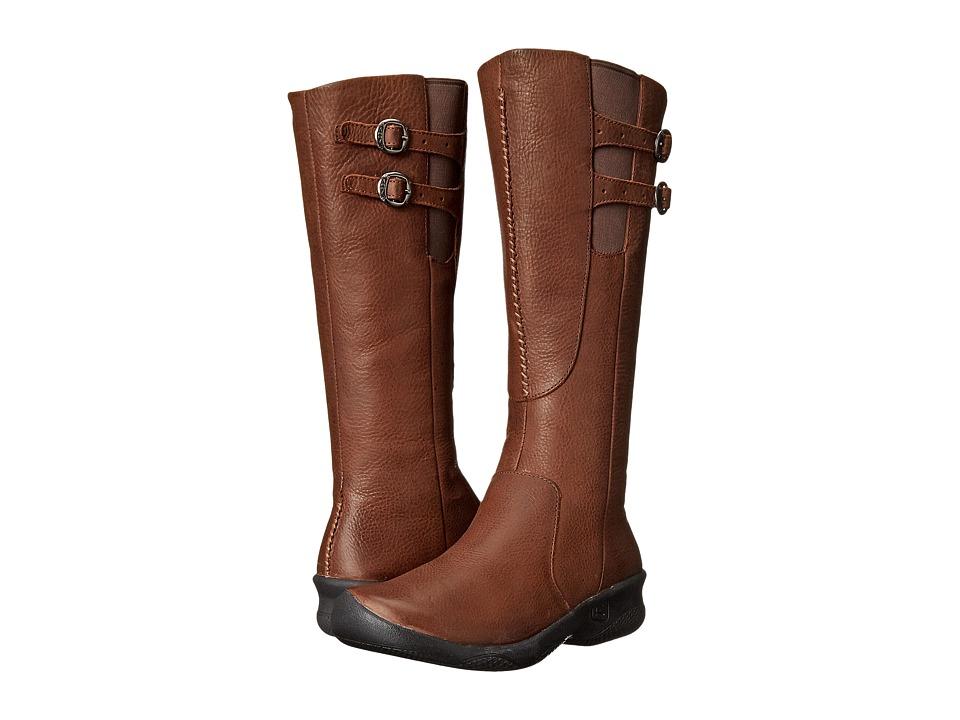 Keen - Bern Baby Bern Boot (Stark Oak) Women's Zip Boots