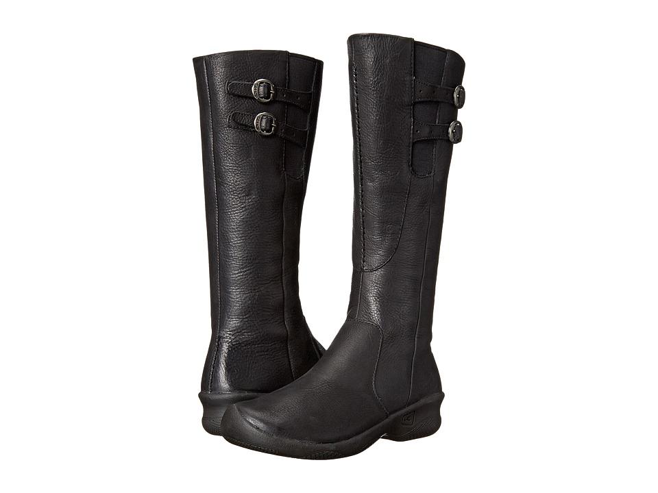 Keen - Bern Baby Bern Boot (Stark Black) Women's Zip Boots