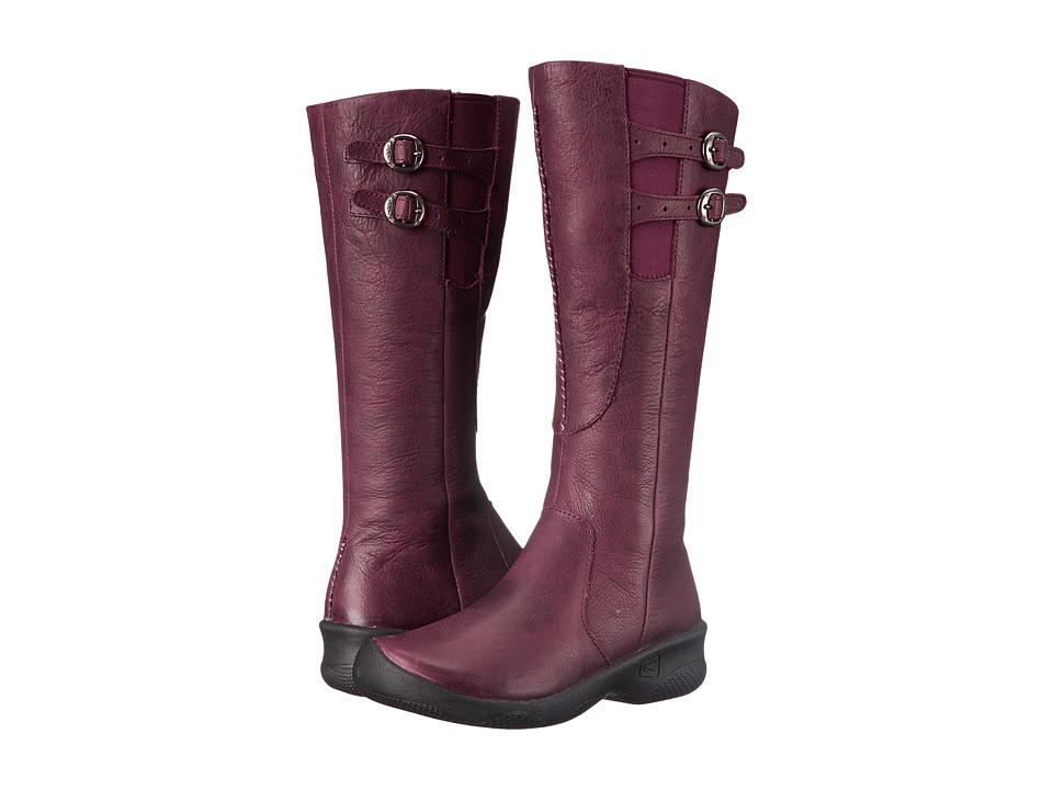 Keen - Bern Baby Bern Boot (Zinfandel) Women's Zip Boots