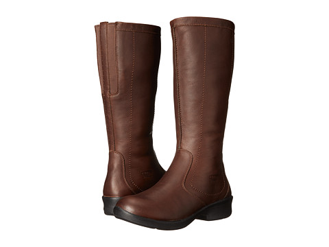 Keen - Tyretread Zip WP (Cascade Brown) Women's Waterproof Boots