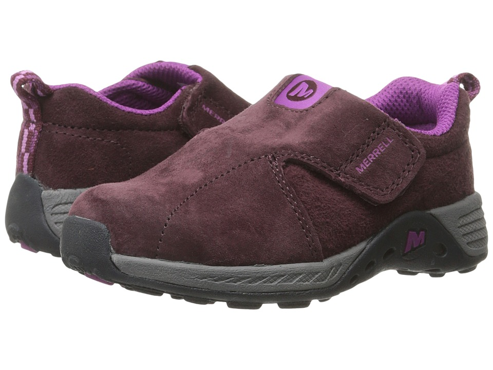 Merrell Kids - Jungle Moc Sport A/C (Toddler) (Berry/Grey) Girl's Shoes
