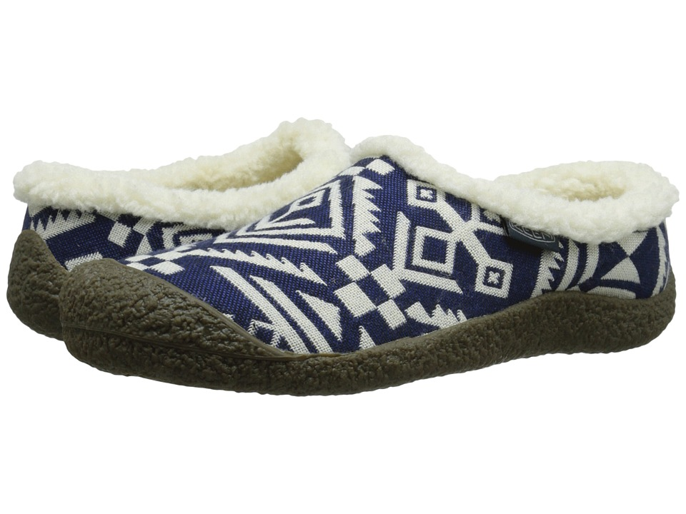 Keen - Howser II Slide (Dress Blue/White) Women's Slippers