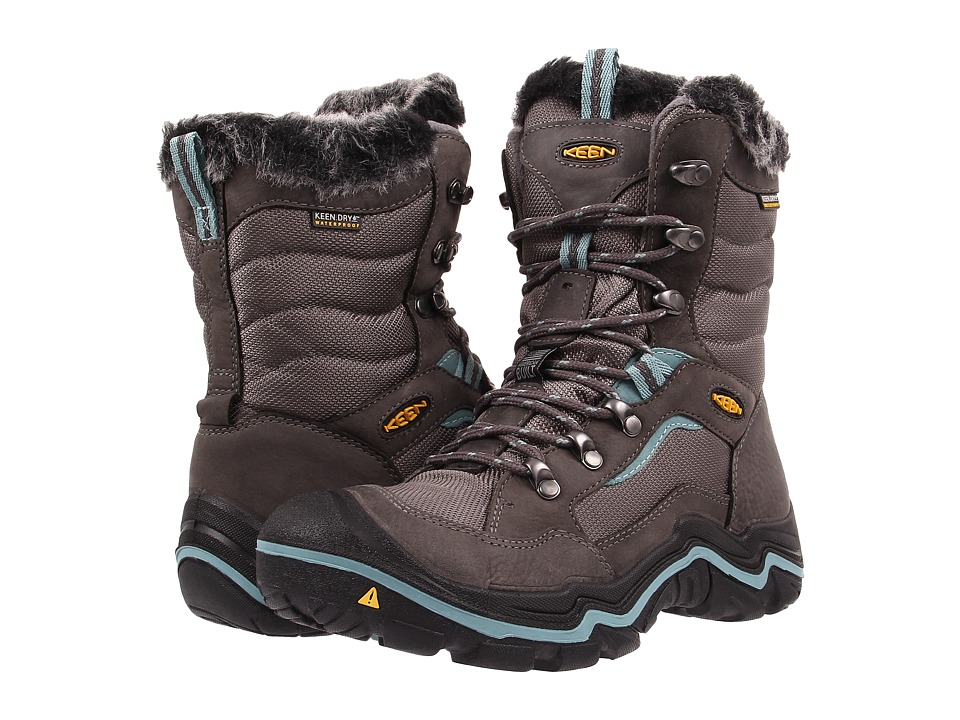 Keen - Durand Polar (Magnet/Mineral Blue) Women's Cold Weather Boots