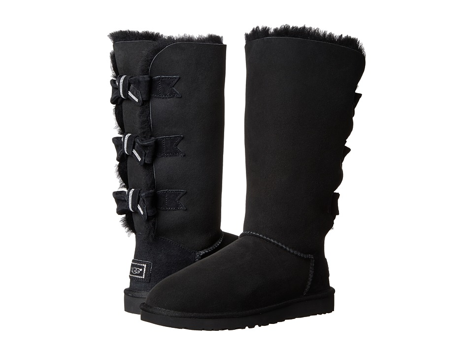 UGG - Amelie (Black/Twinface) Women's Boots