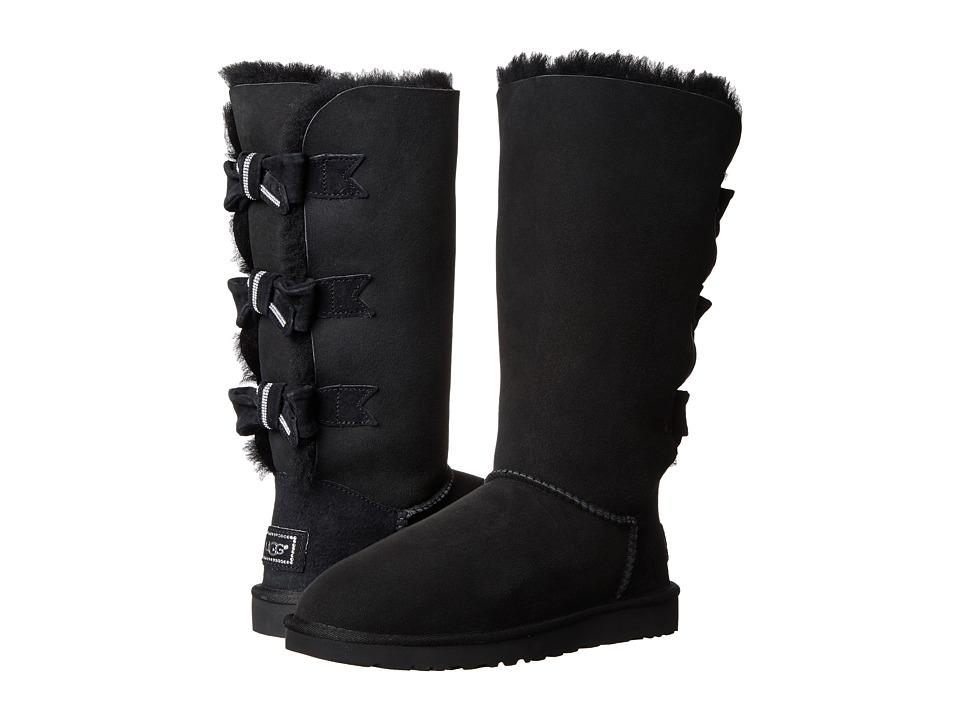 UGG - Amelie (Black/Twinface) Women's Boots