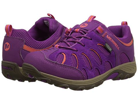 Merrell Kids - Chameleon Low Lace Waterproof (Big Kid) (Fuchsia/Orange) Girls Shoes