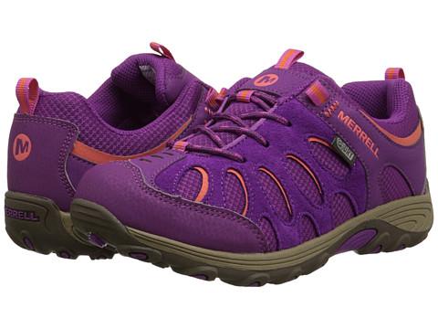 Merrell Kids - Chameleon Low Lace Waterproof (Big Kid) (Fuchsia/Orange) Girls Shoes