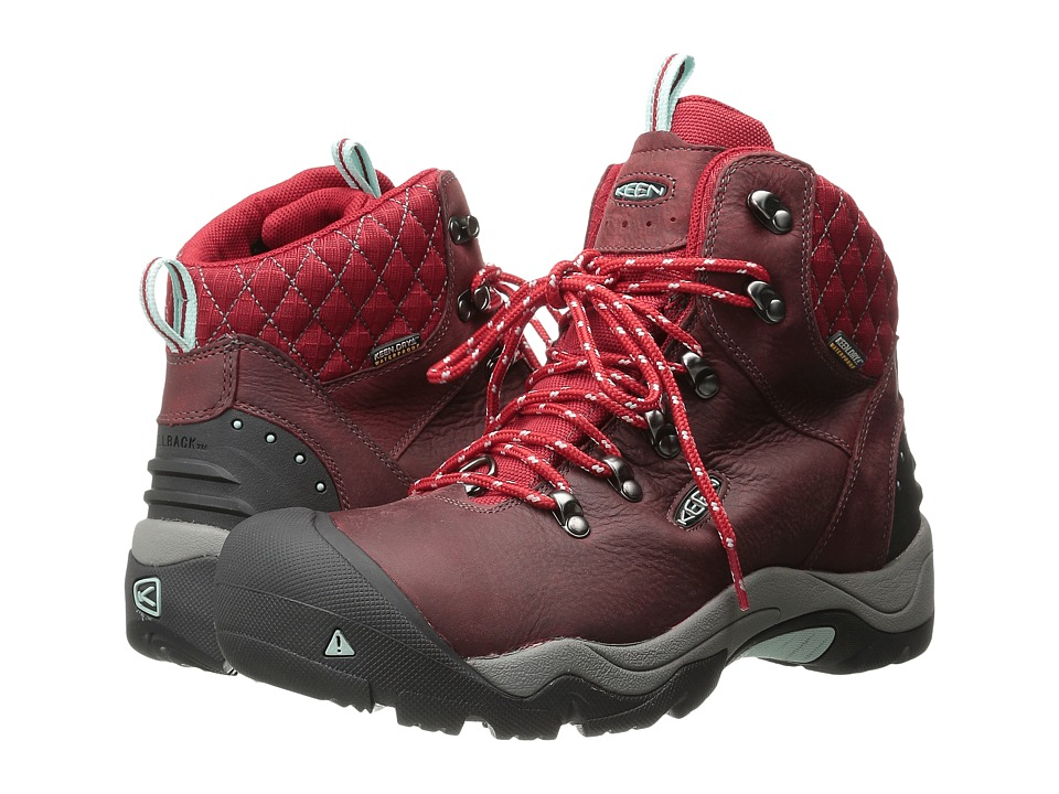 Keen Revel III (Racing Red/Eggshell) Women