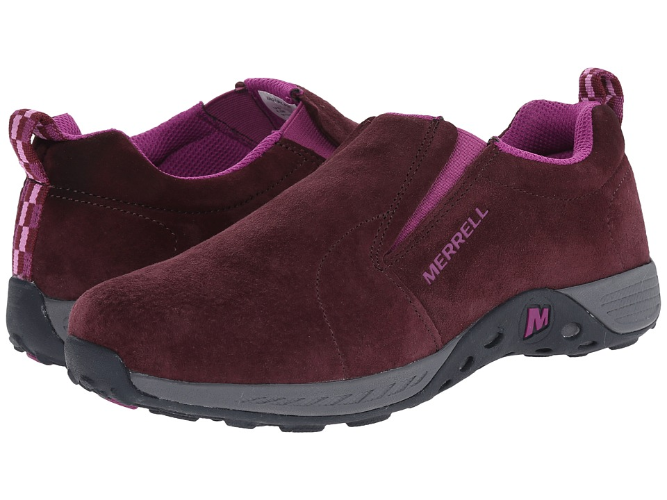 Merrell Kids - Jungle Moc Sport (Big Kid) (Berry/Grey) Girls Shoes