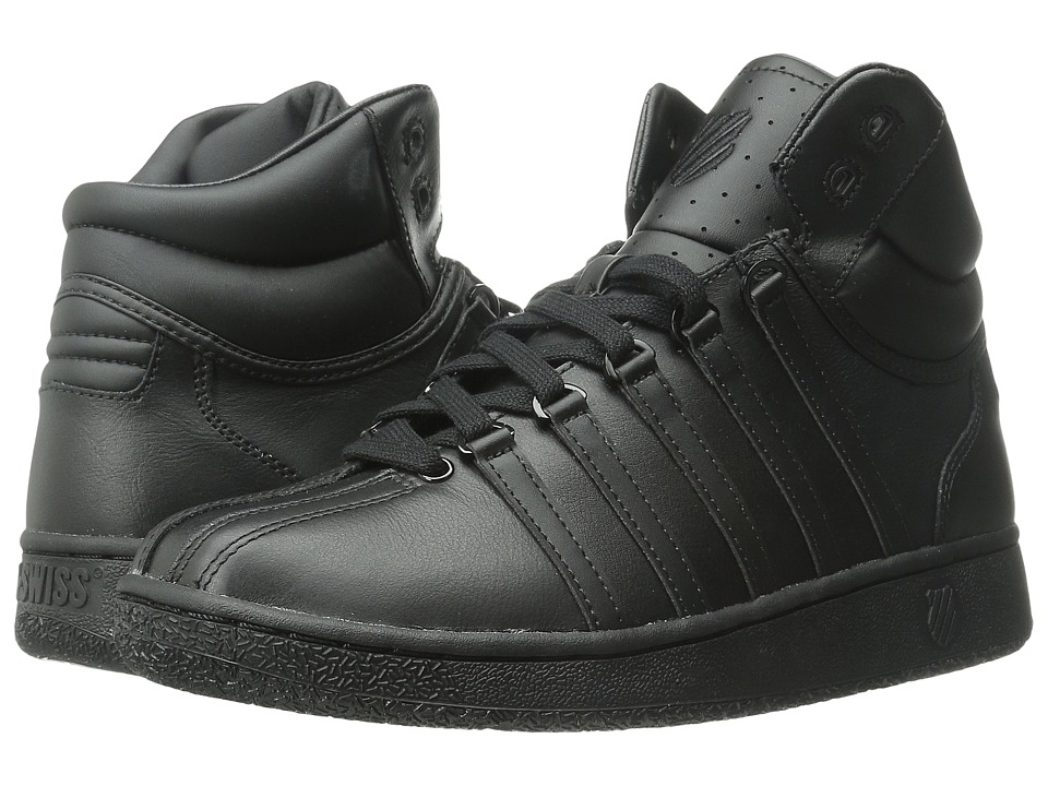 K-Swiss - Classic VN Mid (Black/Black) Men's Classic Shoes