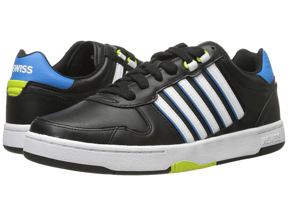 K-Swiss - Jackson (Black/Blue/Aster/Lime Punch) Men
