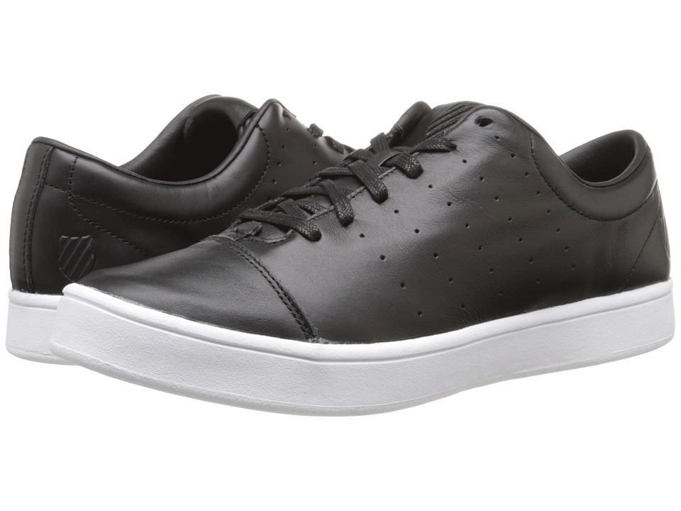 K-Swiss - Washburn (Black/White) Men's Tennis Shoes