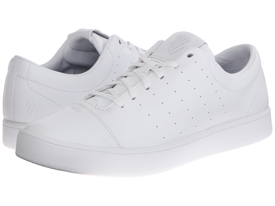 K-Swiss - Washburn (White/White) Men's Tennis Shoes