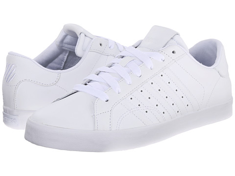 K-Swiss - Belmont (White/White) Women's Tennis Shoes