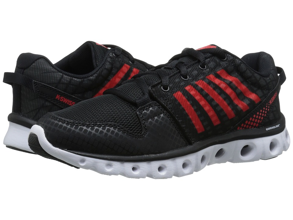 K-Swiss - X Lite ST CMF (Black/Fiery Red) Men's Cross Training Shoes