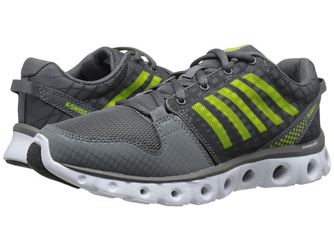 K-Swiss - X Lite ST CMF (Charcoal/Lime Punch) Men