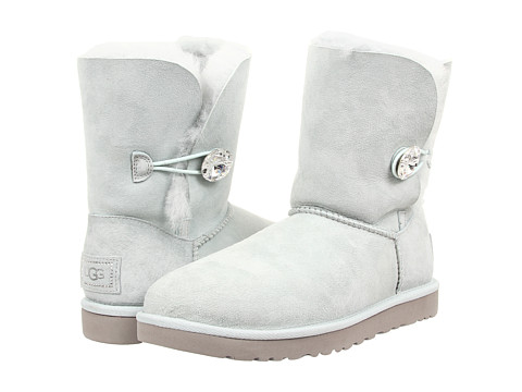 UGG - Bailey Button Bling (Ice/Twinface) Women's Boots