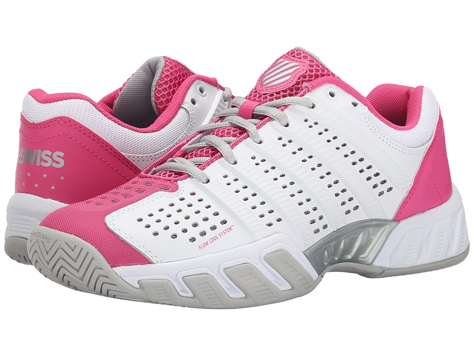 K-Swiss - Bigshot Light 2.5 (White/Shocking Pink) Women