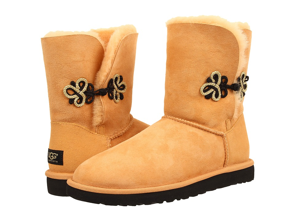 UGG - Bailey Gold Mariko (Rabbitbrush/Twinface) Women's Cold Weather Boots