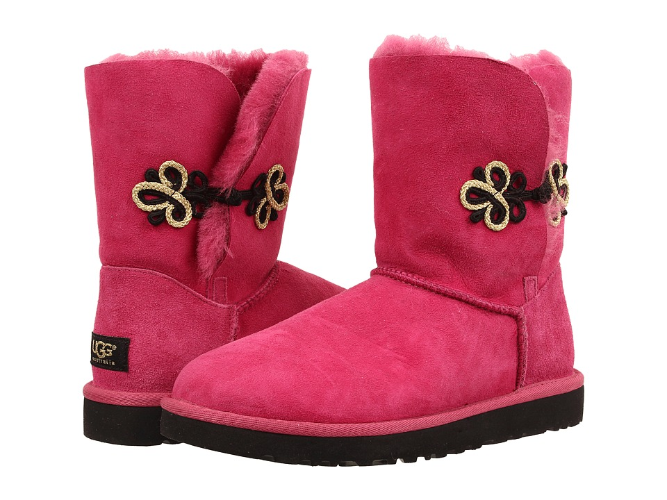 UGG - Bailey Gold Mariko (Red Violet/Twinface) Women's Cold Weather Boots