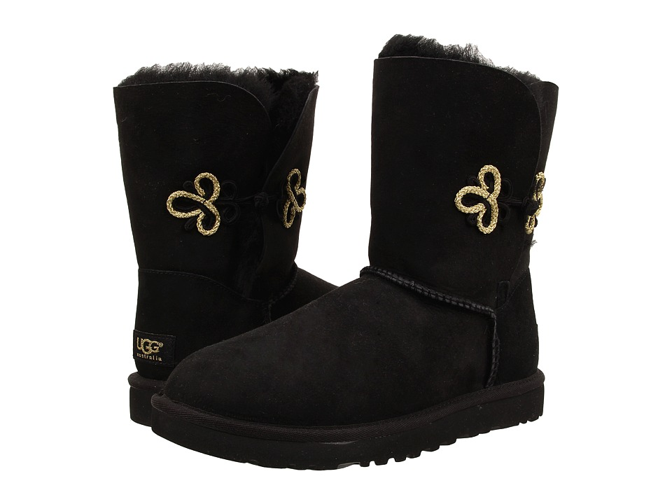 UGG - Bailey Gold Mariko (Black/Twinface) Women's Cold Weather Boots