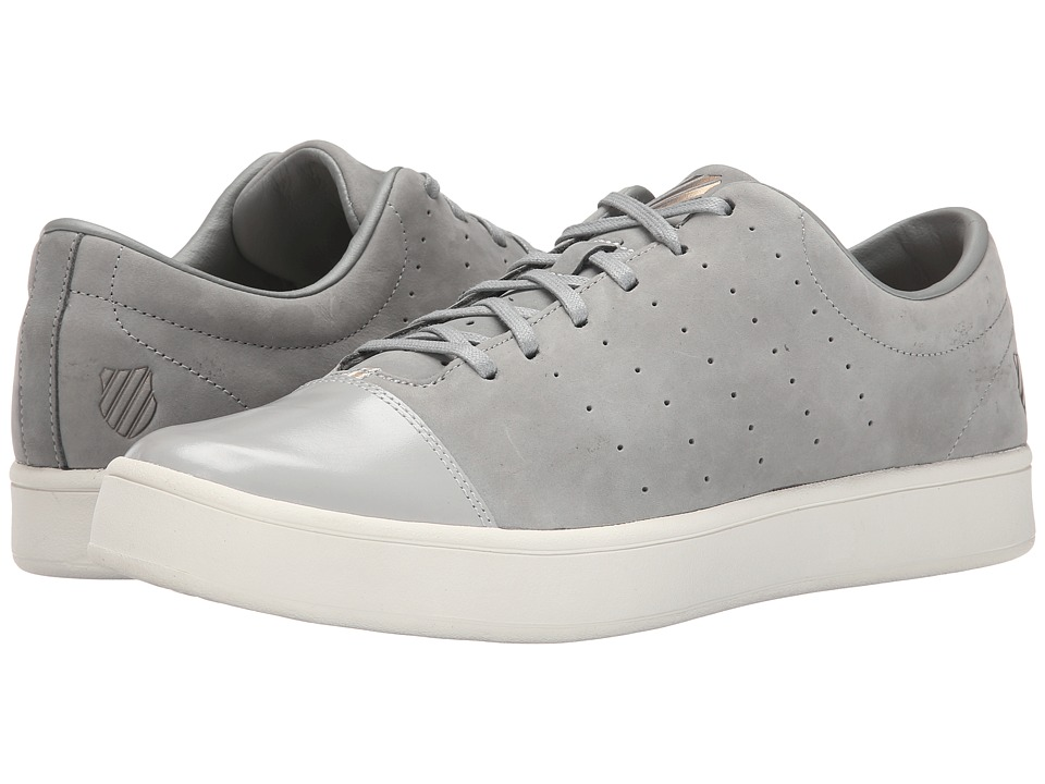 K-Swiss - Washburn P (Neutral Grey/Gull Gray/White) Men's Tennis Shoes