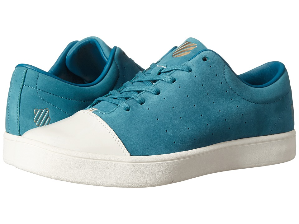 K-Swiss - Washburn P (Colonial Blue/Bone/Star White) Men's Tennis Shoes