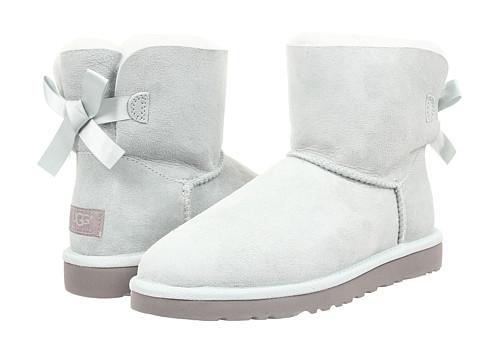 UGG - Mini Bailey Bow (Ice Twinface) Women's Boots