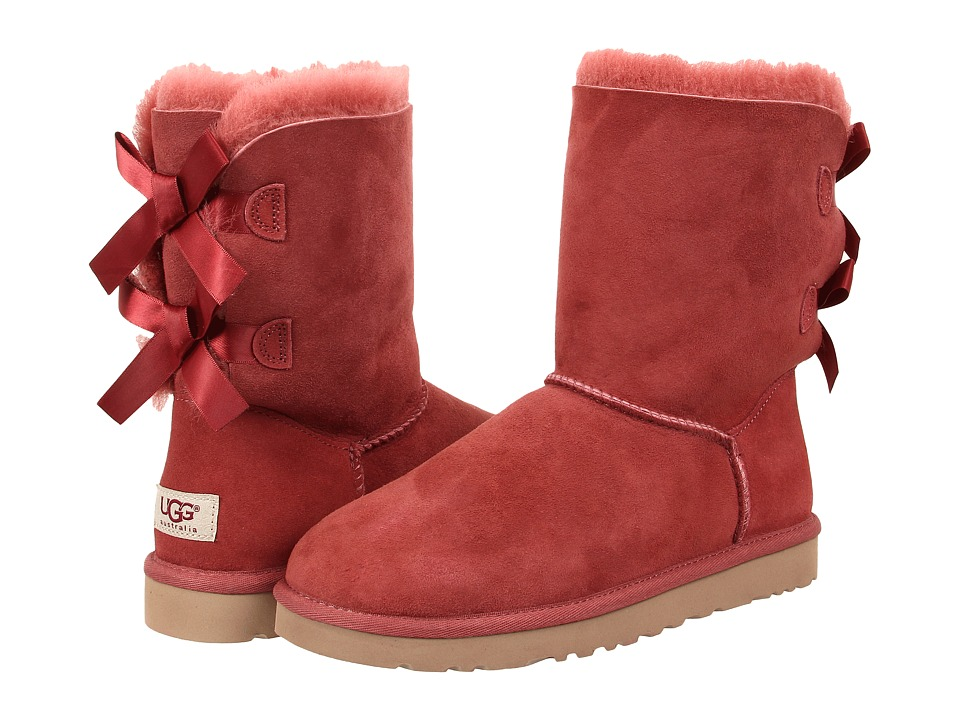 UGG - Bailey Bow (Redwood Twinface) Women's Boots