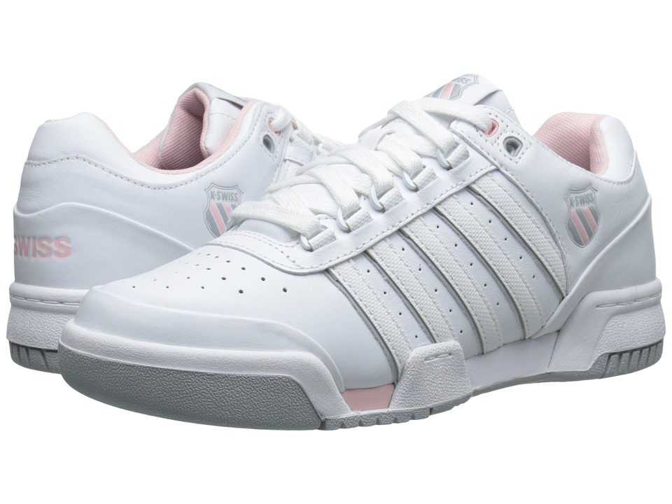 K-Swiss - Gstaad (White/Crystal Rose/Storm) Women