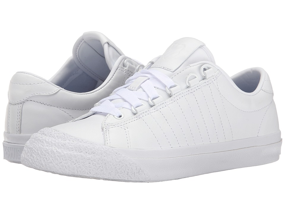 K-Swiss - Irvine (White/White/White) Women's Tennis Shoes