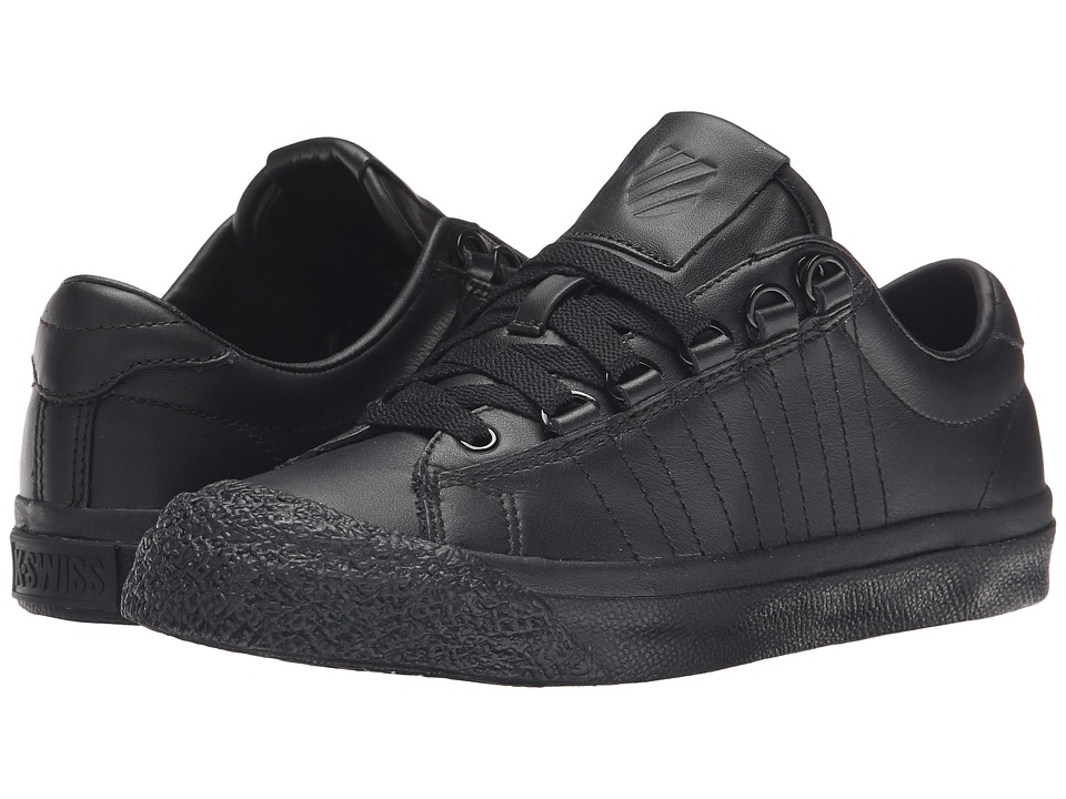 K-Swiss - Irvine (Black/Black/Black) Women's Tennis Shoes