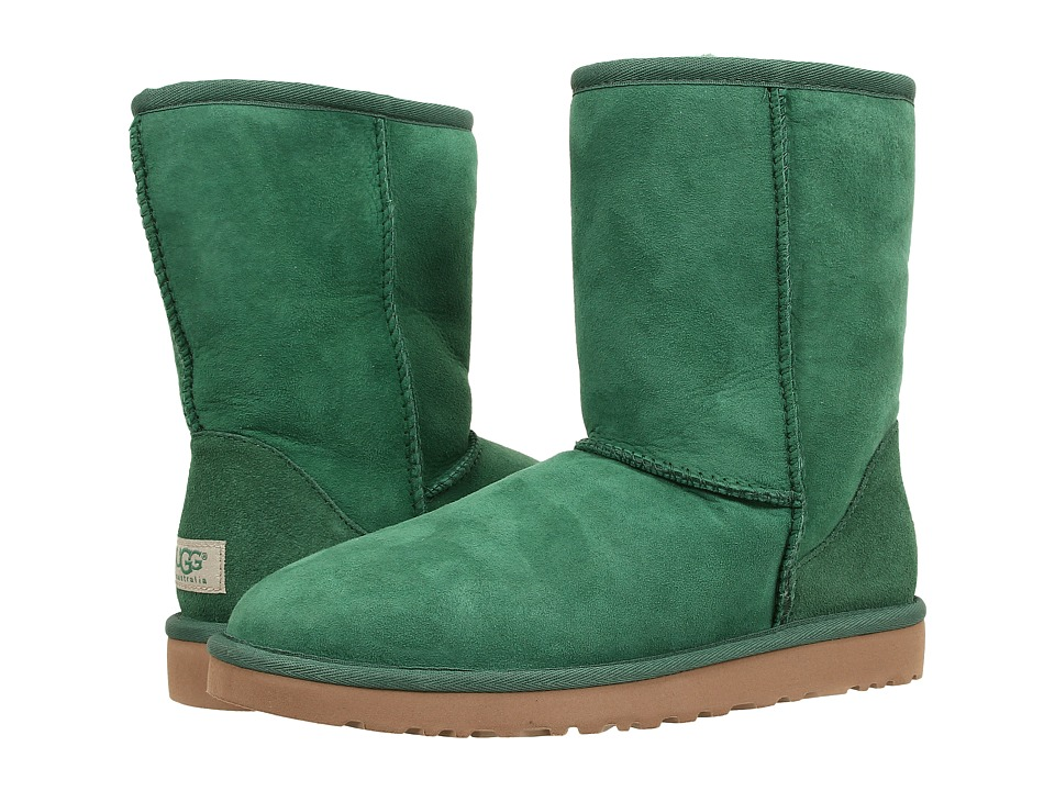 UGG - Classic Short (Pine Twinface) Women's Pull-on Boots