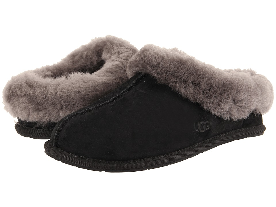 UGG - Moraene (Black Suede) Women's Slip on Shoes