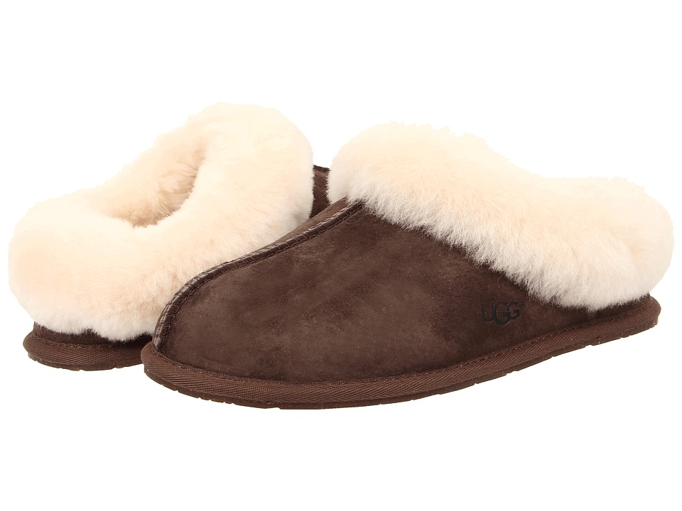 UGG - Moraene (Espresso Suede) Women's Slip on Shoes