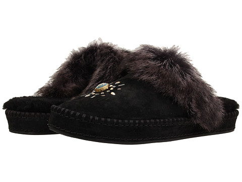 UGG - Aira Crystals (Black Suede) Women's Slip on Shoes