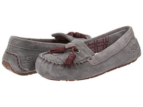 UGG - Lizzy (Granite Suede) Women's Flat Shoes