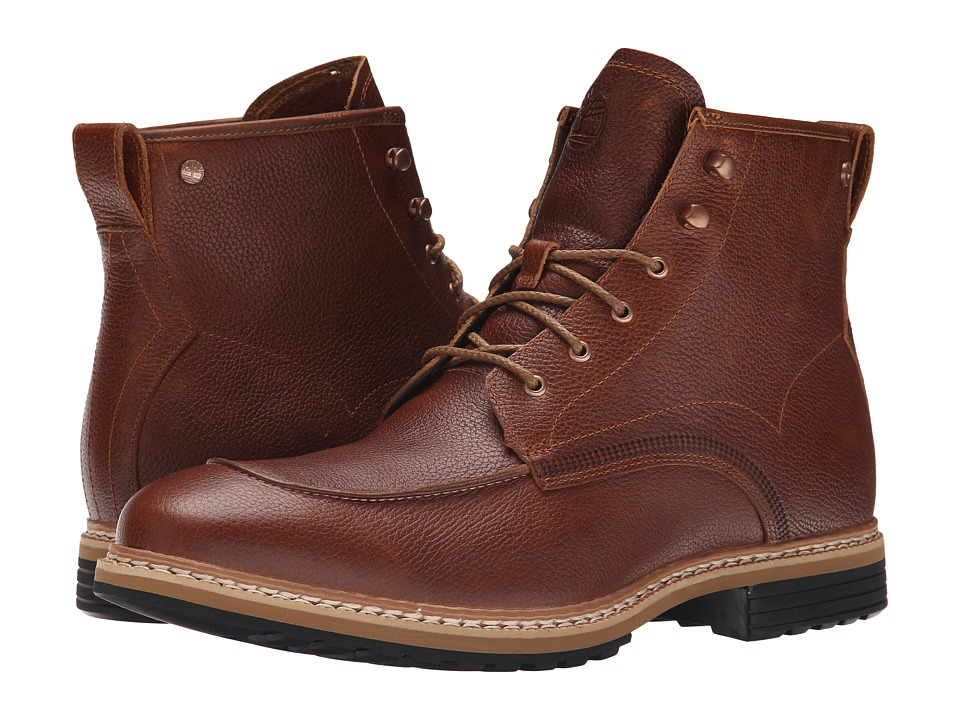 Timberland West Haven 6 Waterproof Boot (Dark Brown Full Grain) Men