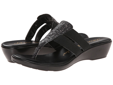 Athena Alexander - Louisa (Black Python) Women's Sandals