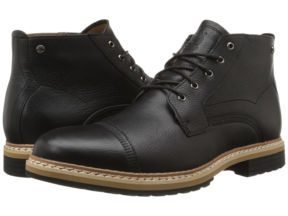 Timberland - West Haven Waterproof Chukka (Black Full Grain) Men's Boots