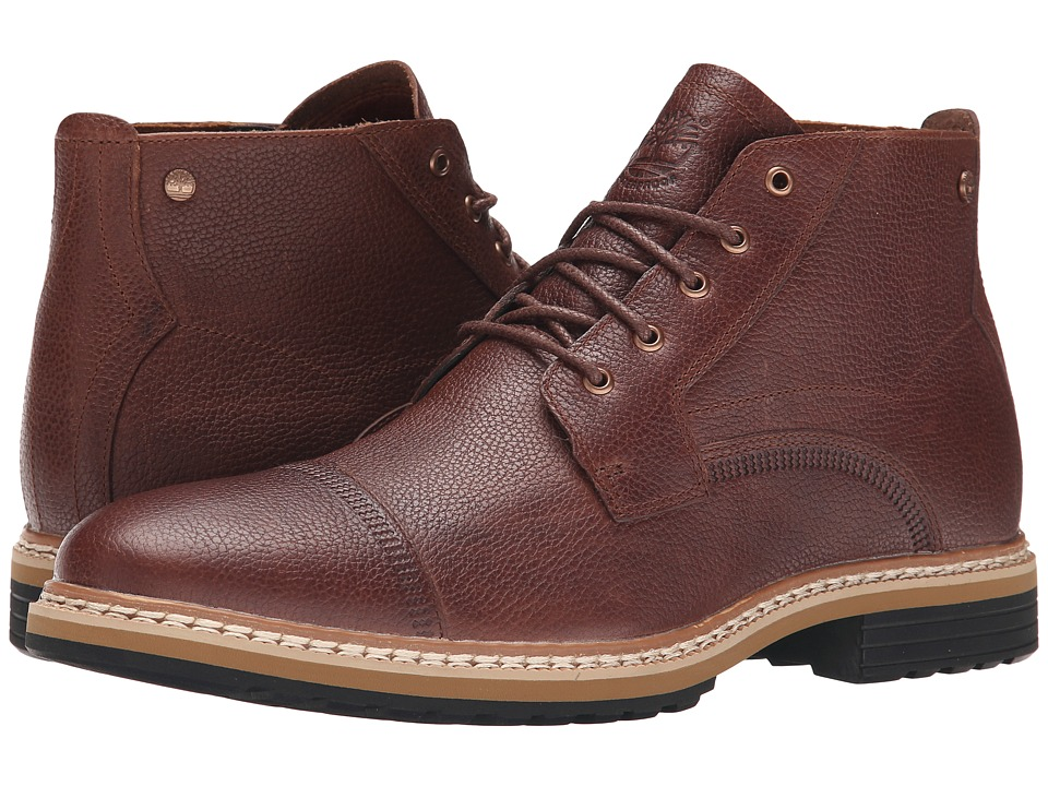Timberland West Haven Waterproof Chukka (Dark Brown Full Grain) Men