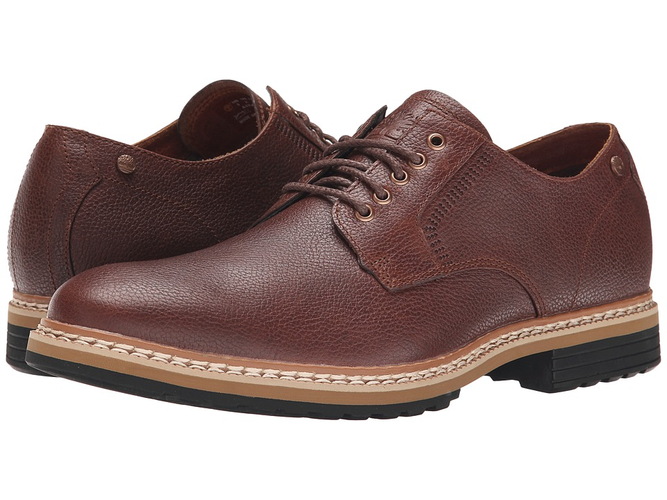 Timberland - West Haven Waterproof Oxford (Dark Brown Full Grain) Men