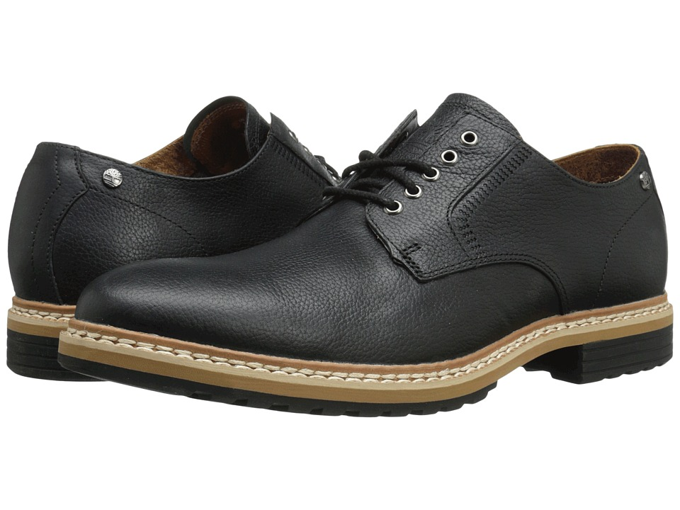 Timberland - West Haven Waterproof Oxford (Black Full Grain) Men