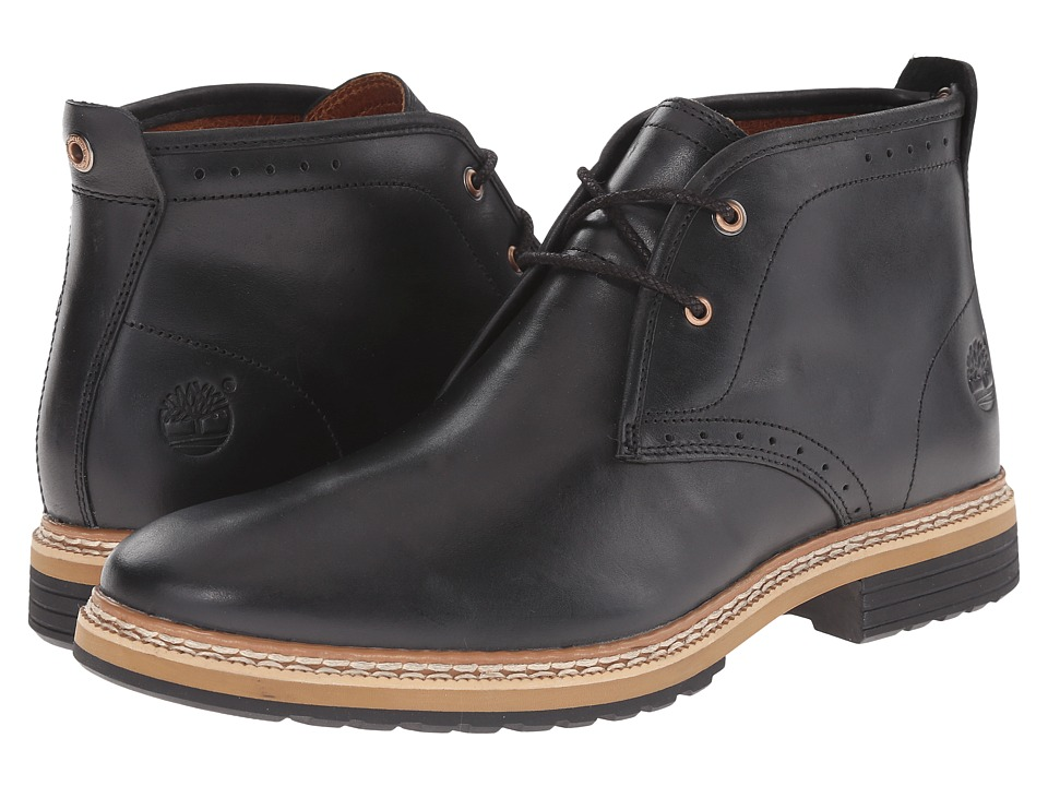 Timberland - West Haven Chukka (Black Full Grain) Men's Boots