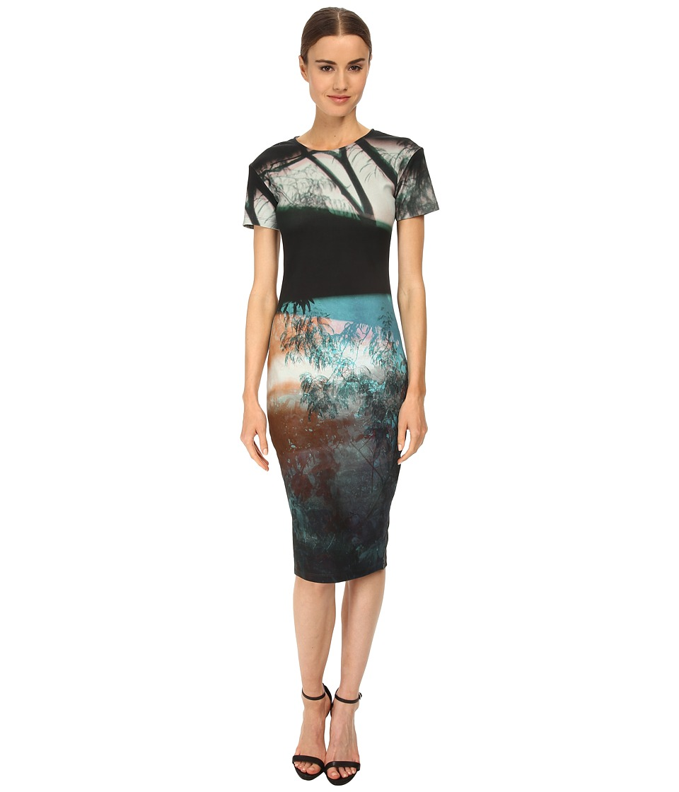 McQ - Dress (Haze Blue Print) Women